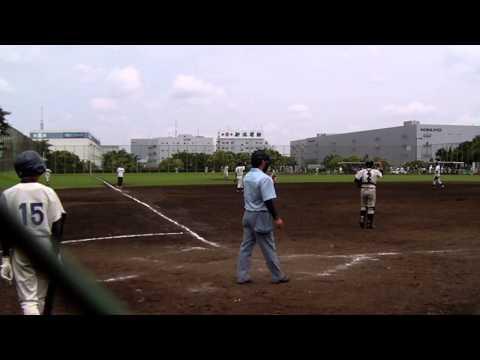 2013/06/29 深川二中vs深川五中【六回表】
