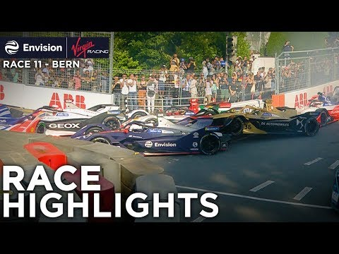 Formula E Bern E-Prix Race Highlights! (Envision Virgin Racing)