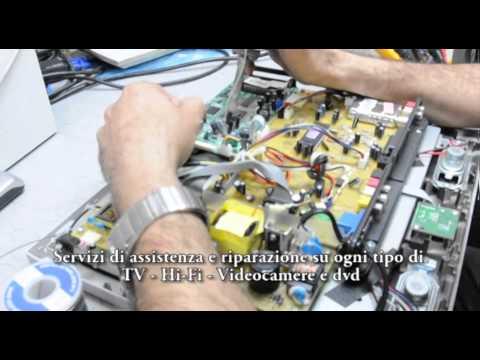 RIPARAZIONE ED ASSISTENZA TV CRT LCD LED PLASMA HI-FI