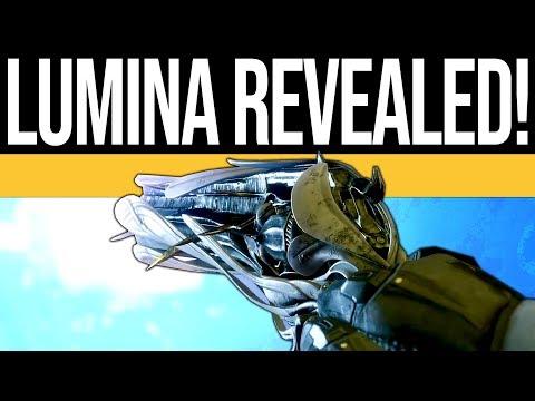 Destiny 2 | LUMINA EXOTIC TRAILER! Secret Chest, Noble Rounds, Lumina Gameplay & Info!
