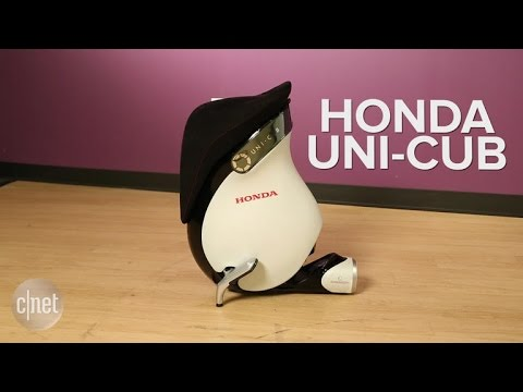 Navigate the great indoors with Honda's UNI-CUB motorized unicycle