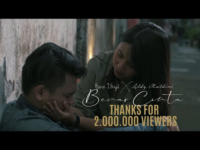 HANIN DHIYA x ALDY MALDINI - Benar Cinta (Official Music Video)