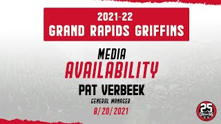 [GR] Pat Verbeek media availability