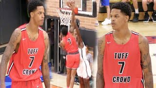 Shareef O'Neal FIRST GAME BACK from Heart Surgery Dunks on Defender @ the Drew League