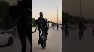 Girl bike stunt Attitude WhatsApp Status Video ❤
