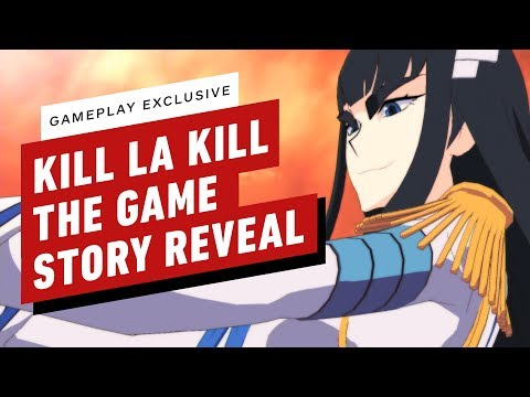 Kill la Kill : The Game IF : Kill la Kill the Game: If First Story Mission Gameplay