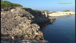 preview picture of video 'Portinatx  Nordküste v. Ibiza * Portinatx at the north coast of Ibiza * Eivissa * Spain'