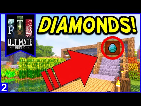 FTB Ultimate Reloaded Modpack Ep  13 Soul Shards Mob Farm