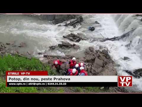 Potop, din nou, peste Prahova
