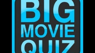BIG MOVIE QUIZ Stage 1 Answers