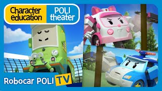 Character education   Poli theater   It's bad to split sides with your friends.