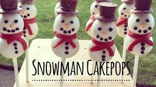 Snowmen Cakepops | Emily Askew