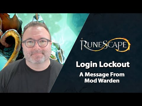RuneScape Takes First Steps in Login Lockout Restoration and Details the Restoration Phase