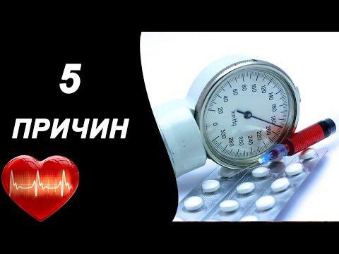 5 основных причин повышения артериального давления