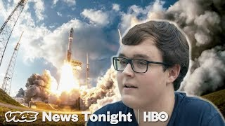 The World Famous Teenager Capturing Rocket Launches (HBO)