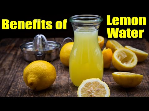 Drink Lemon Water for 30 Days, the Result Will Amaze You! ~ New Look