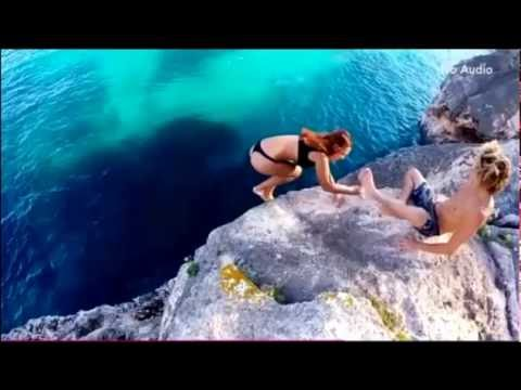 Woman Who Stumbled Off Cliff Desperately Reaches For Boyfriend