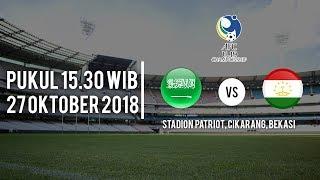 Jadwal Pertandingan Arab Saudi U-19 Vs Tajikistan U-19, Pukul 19.00 WIB