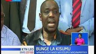 Mswada wa kuwaondoa mawaziri wazua mgogoro bunge Kisumu