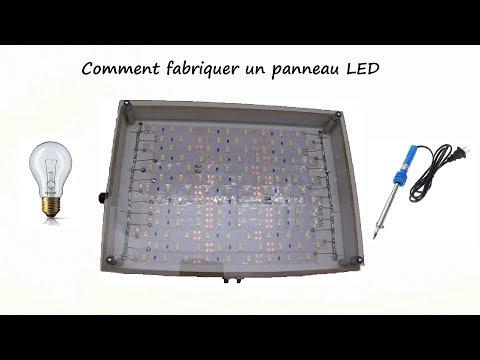 Comment fabriquer un panneau LED