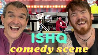 Ishq Comedy Scene | Ajay Devgan, Aamir Khan | REACTION!!