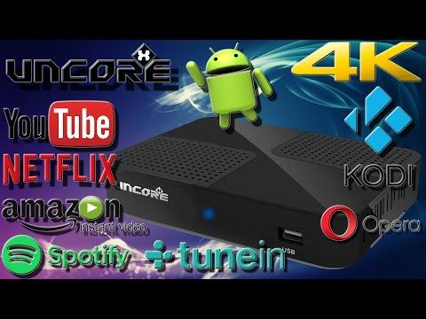 Hardware - UncoreX 4K Android DVBS-S2 Receiver Lange Version