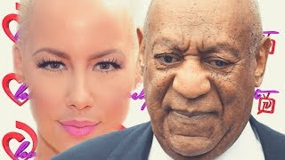 Bill Cosby Falls Down Stairs & Has A Hot Dog Bun🌭 Thrown At Him+Amber Rose Wishes Him Death
