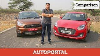 Ford Freestyle vs Maruti Suzuki Swift Comparison - Autoportal