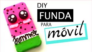 DIY FUNDA PARA CELULAR Y MOVIL - SANDIA KAWAII