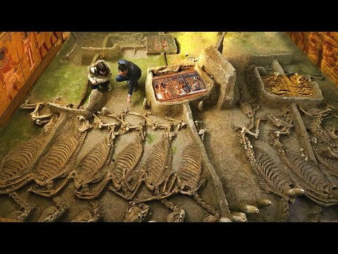 10 GEWELDIGE ontdekkingen in Egypte die wetenschappers bang maken