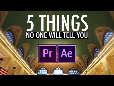 5 Things Nobody Will Tell You About Video Editing (Adobe Premiere Pro CC Tutorial)
