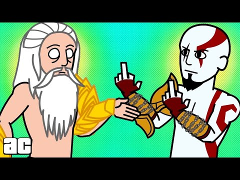 God of War ENTIRE Story in 3 minutes! (God of War Animation)