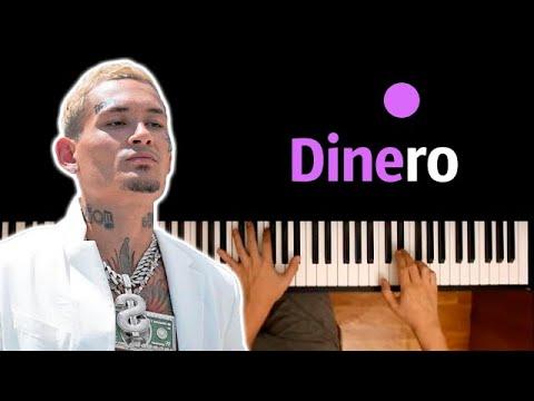 Morgenshtern - Dinero ● караоке | PIANO_KARAOKE ● ᴴᴰ + НОТЫ & MIDI