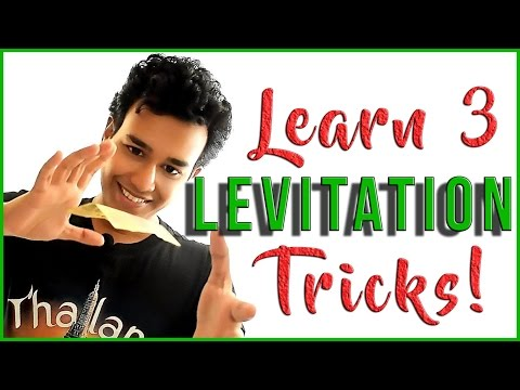 Learn 3 Levitations with NO STRINGS!