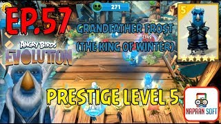 ANGRY BIRDS EVOLUTION - GRANDFATHER FROST(THE KING OF WINTER) - PRESTIGE LEVEL 5 - MAJOR PECKER
