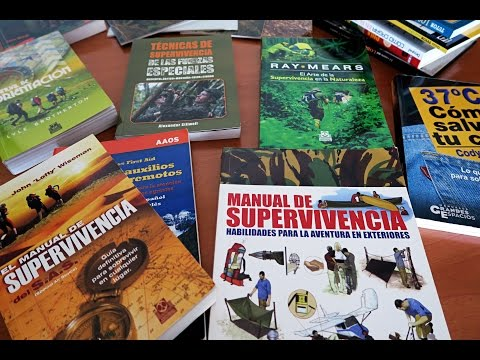 Manuales de supervivencia, bushcraft, orientación, rastreo y montaña