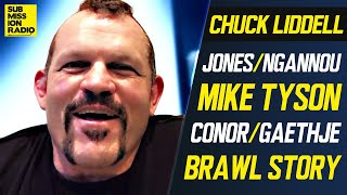 Chuck Liddell on Jones/Ngannou, Conor/Gaethje, Wild Brawls, Mike Tyson Return, Cagefighter Movie!