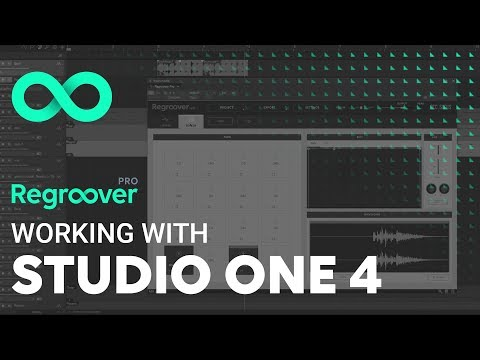 Regroover Pro: Working with Studio One 4