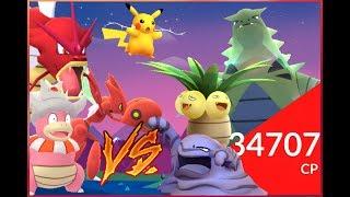 Slowking  - (Pokémon) - Pokémon GO Raid BOSSES & Gym Battles Scizor Muk Pikachu Slowking & more