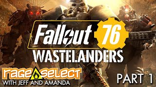 Fallout 76: Wastelanders - The Dojo (Let's Play) - Part 1