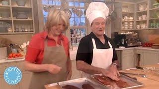 Robin Williams Laughs and Cooks Alongside Martha Stewart - Martha Stewart