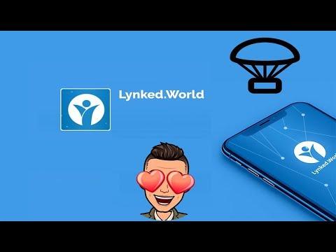 Sensacional Airdrop , baixe o app e ganhe dinheiro com a Lynked.World !