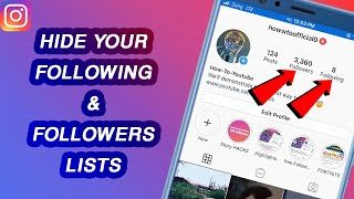 How To Hide Your Followers & Following List on Instagram (2021)