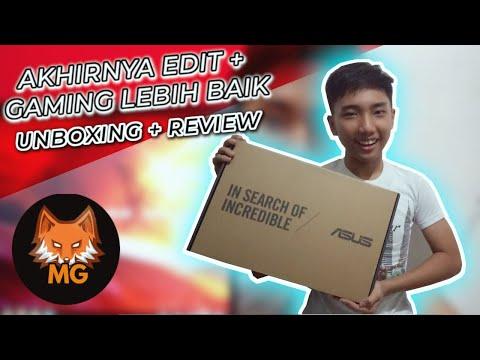 AKHIRNYA BISA EDIT + GAMING LEBIH BAIK - Unboxing + Review Laptop Asus A407UF