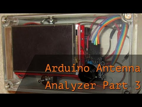 Homebrew Arduino/ AD9850 Antenna Analyzer-Sweeper K6BEZ's