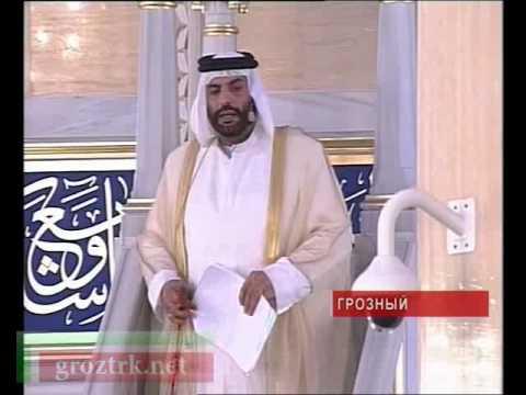 Пятничная молитва Рузба рядом с реликвиями - видео