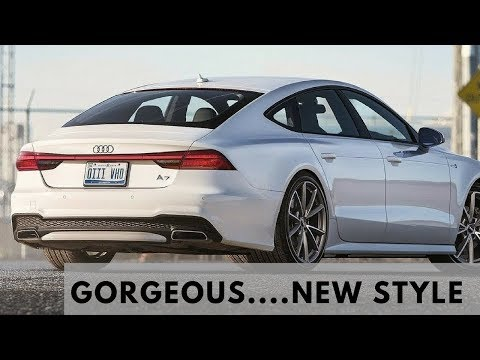 2018 Audi A7 White Color | Pictures