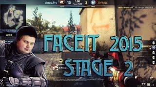 Лучшие моменты CS GO FaceIT League S2 [2015]