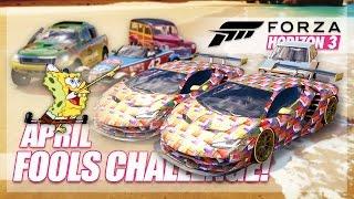 Forza Horizon 3 - April Fools Challenge! (Prank & Trolling)