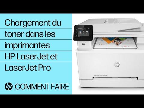 Installation de cartouches de toner dans votre imprimante HP LaserJet ou LaserJet Pro